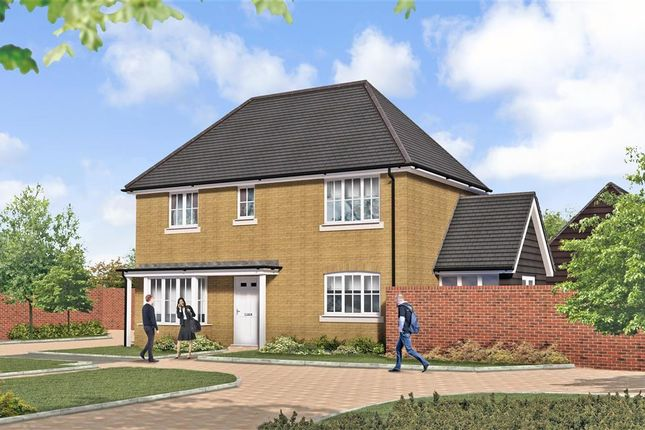 Thumbnail Detached house for sale in Peter's Village, Hall Road, Evabourne, Wouldham, Rochester, Kent