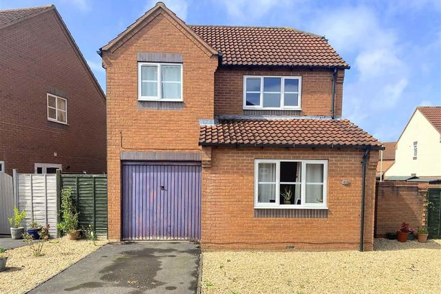Thumbnail Detached house for sale in Pendock Close, Quedgeley, Gloucester