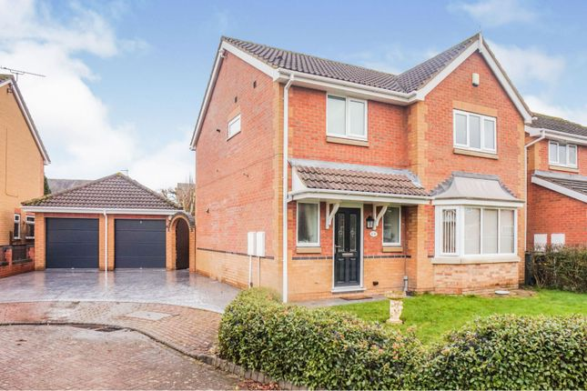 3 bed detached house for sale in Bakewell Mews, North Hykeham, Lincoln LN6