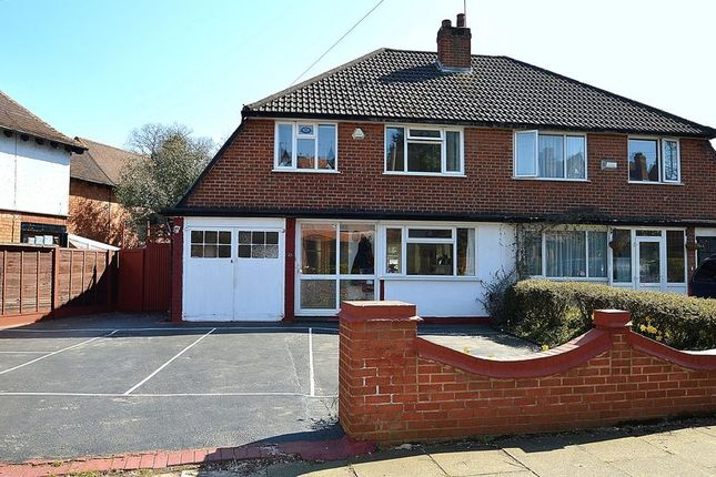 Thumbnail Semi-detached house for sale in Featherstone Road, Kings Heath, Birmingham