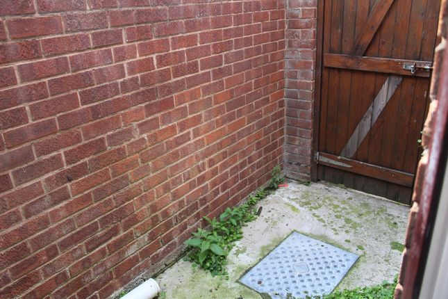 Back Yard of Selina Road, Walton, Liverpool L4