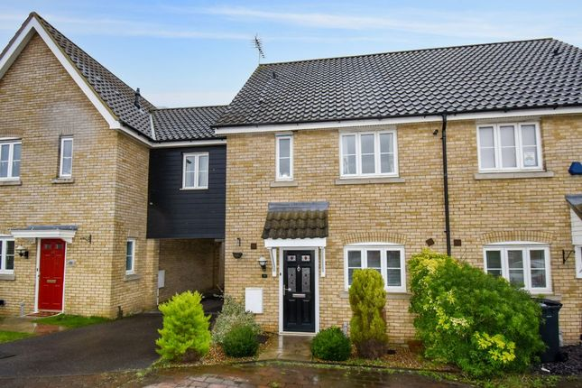 Thumbnail Terraced house for sale in Brickfields Drive, Haverhill
