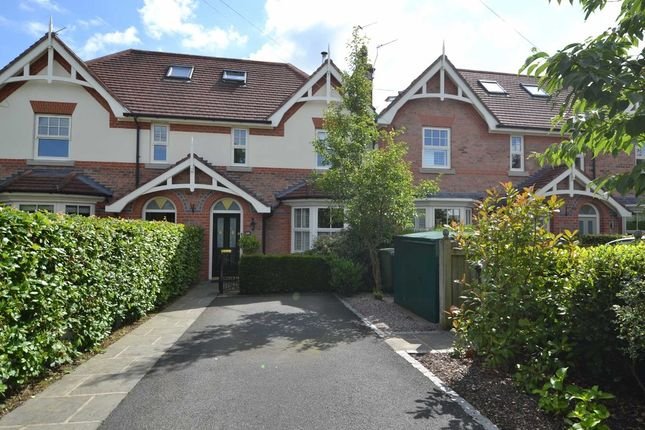 Thumbnail Town house for sale in Cumber Lane, Wilmslow