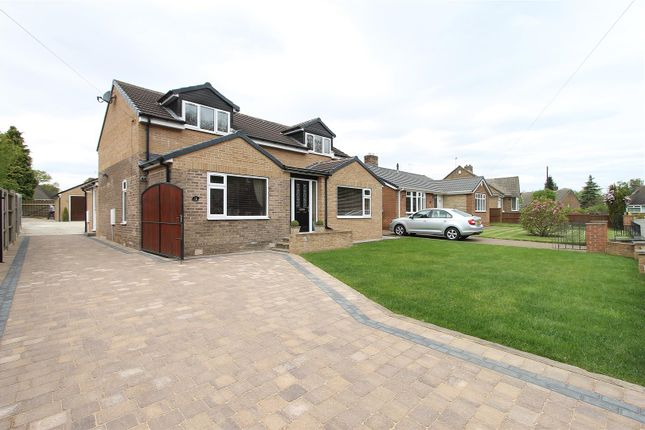 Thumbnail Detached bungalow for sale in Harewood Crescent, Old Tupton, Chesterfield