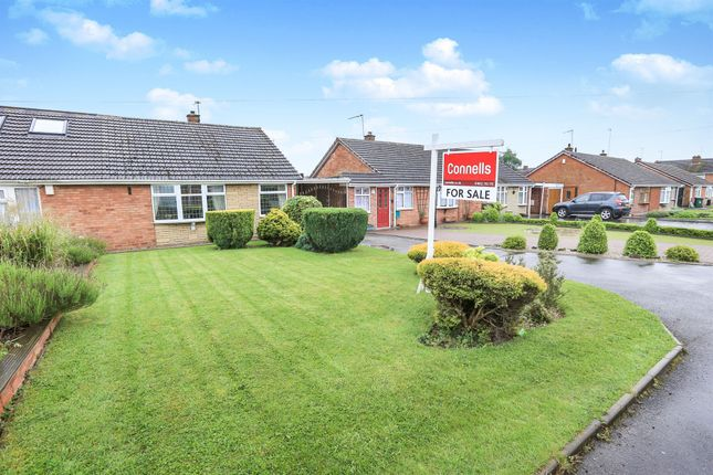 Thumbnail Semi-detached bungalow for sale in Ludlow Close, Summer Hayes Estate, Willenhall