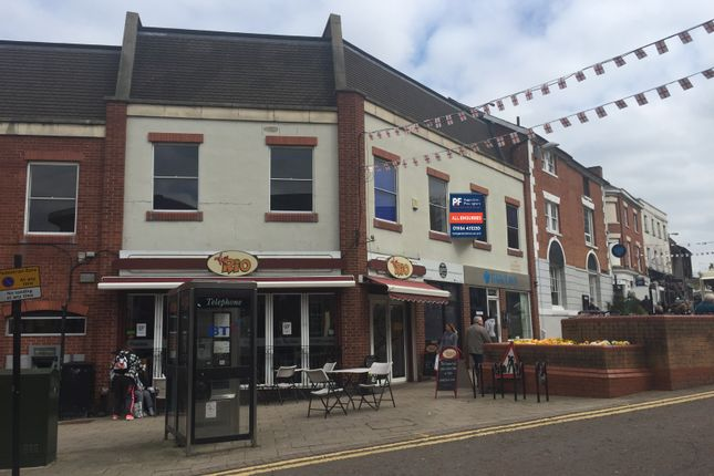 Retail premises to let in Market Place, Hinckley