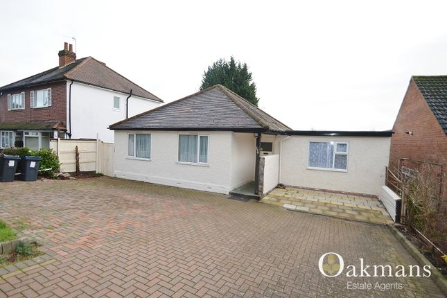 Thumbnail Bungalow to rent in Weoley Park Road, Birmingham, West Midlands.