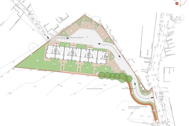 Thumbnail Land for sale in Laity Road, Troon, Camborne