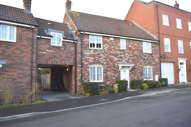 Thumbnail Town house for sale in Long Close, Sturminster Newton