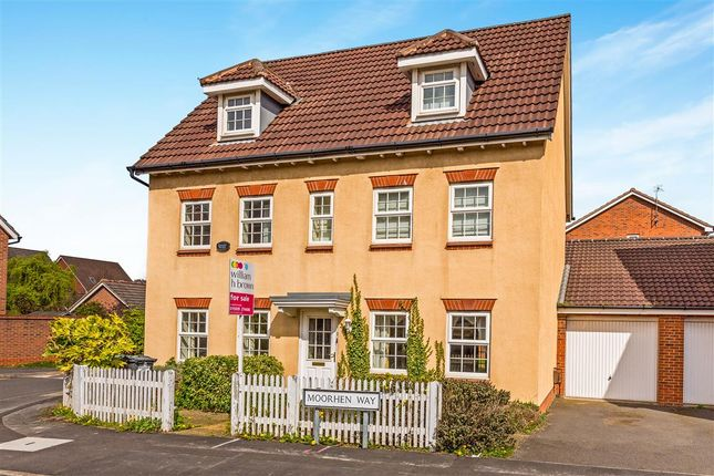 Thumbnail Detached house for sale in Moorhen Way, Loughborough