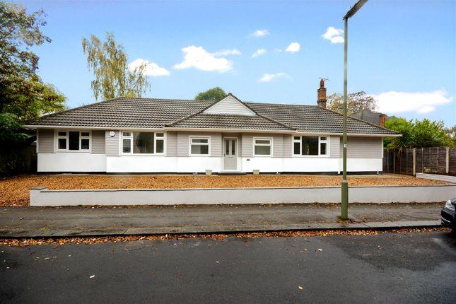 Thumbnail Detached bungalow for sale in Ashdown Road, Epsom