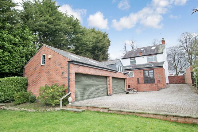 Thumbnail Detached house for sale in Welford Road, Knighton, Leicester