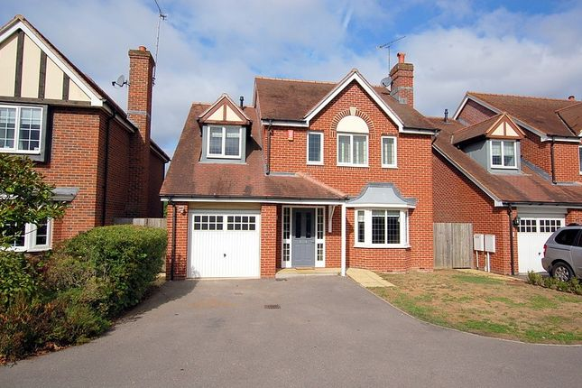 Thumbnail Detached house for sale in Eaves Close, Addlestone