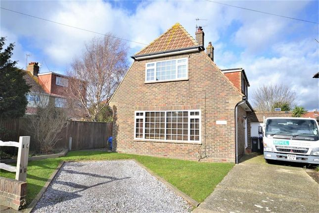 Thumbnail Detached house for sale in Fletcher Road, Broadwater, Worthing, West Sussex