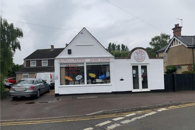 Thumbnail Retail premises for sale in Station Road, Swavesey, Cambridge, Cambridgeshire