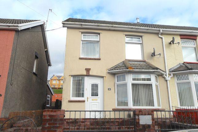 Thumbnail Terraced house for sale in Oak Street, Gilfach Goch
