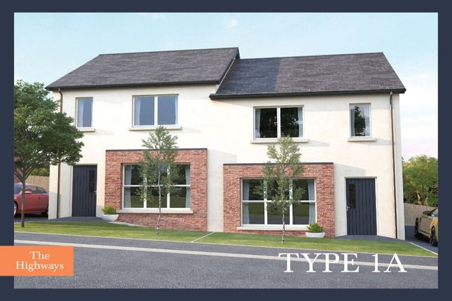 Thumbnail Semi-detached house for sale in The Highways, Ballyhampton Road, Larne