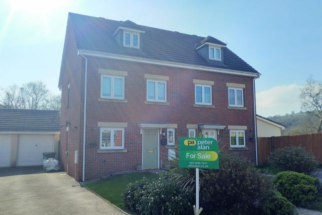 Thumbnail Semi-detached house for sale in Sword Hill, Caerphilly