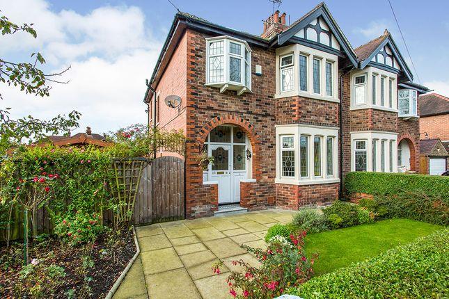 Thumbnail Semi-detached house for sale in Abingdon Drive, Ashton-On-Ribble, Preston, Lancashire
