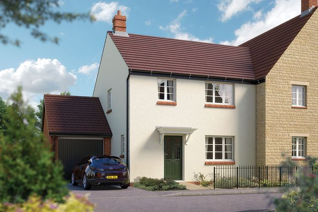 """Thumbnail Semi-detached house for sale in """"The Guilsborough"""" at Towcester Road, Silverstone, Towcester"""