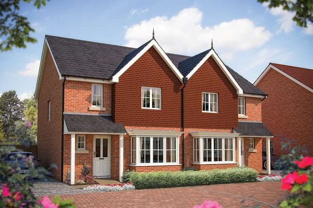 """Thumbnail Semi-detached house for sale in """"The Clifton"""" at Ribbans Park Road, Ipswich"""