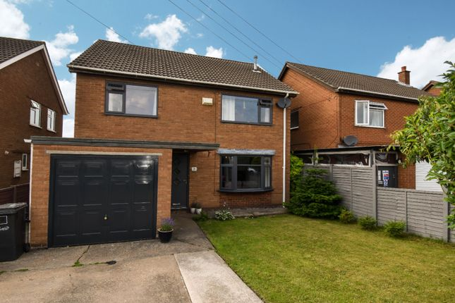 Thumbnail Detached house for sale in Barlings Close, Scotter, Gainsborough