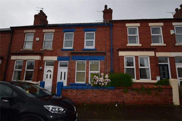 Thumbnail Terraced house to rent in Erfurt Avenue, Bebington, Wirral