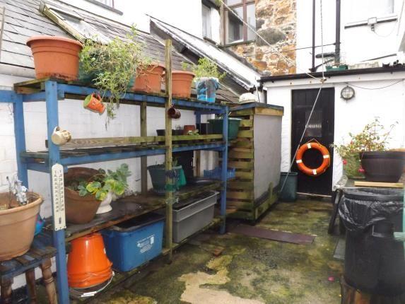 Rear Yard Area of Marine Terrace, Criccieth, Gwynedd LL52
