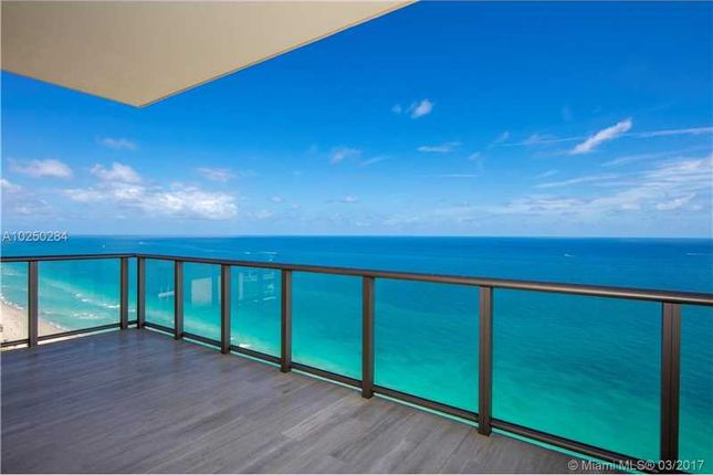 Thumbnail Town house for sale in 17749 Collins Ave 3901/2, Sunny Isles Beach, Fl, 33160