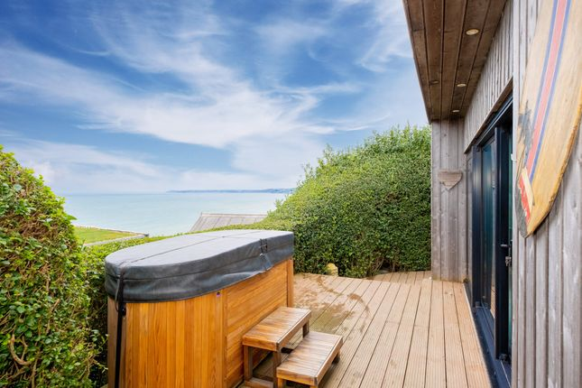 Thumbnail Detached bungalow for sale in Freathy Cliff, Millbrook, Torpoint