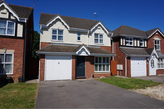 Thumbnail Detached house for sale in Haskell Close, Thorpe Astley