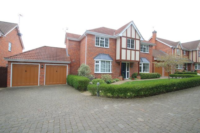 Thumbnail Detached house for sale in Glencrofts, Hockley