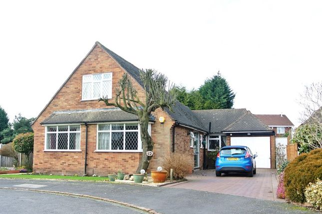 Thumbnail Detached bungalow for sale in Penns Wood Drive, Walmley, Sutton Coldfield