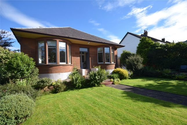 Thumbnail Detached bungalow for sale in Burnside Road, Largs, North Ayrshire