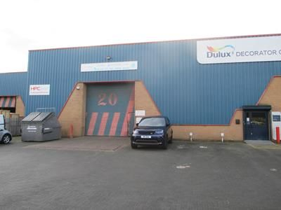 Thumbnail Business park for sale in Unit 20, Stafford Park 12, Telford, Shropshire