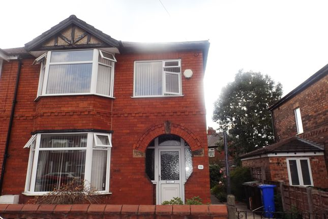 Thumbnail Semi-detached house to rent in Woodbridge Avenue, Audenshaw