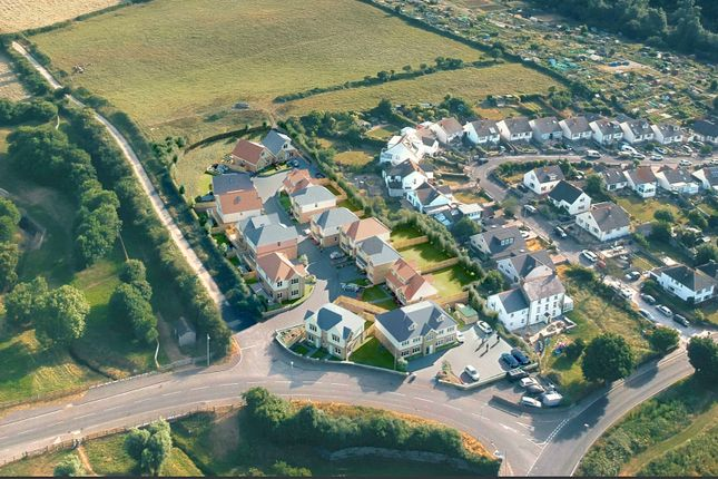 Ariel Shot of The Brook, Prospect Way, Swanage BH19