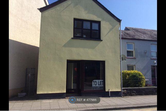 Thumbnail Maisonette to rent in St. John Street, Whitland