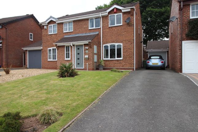 Thumbnail Semi-detached house for sale in Swynnerton Drive, Essington, Wolverhampton