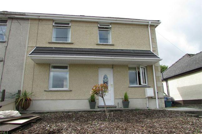 Thumbnail Semi-detached house for sale in Golwg Y Bryn, Seven Sisters, Neath, West Glamorgan
