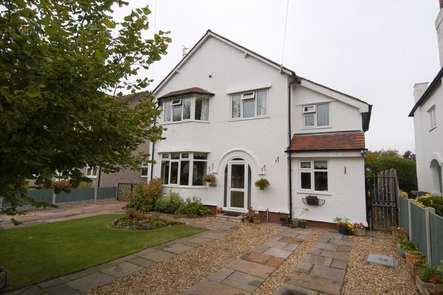 Thumbnail Detached house for sale in Boundary Road, West Kirby, Wirral