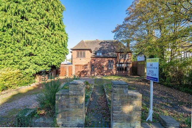 Thumbnail Detached house for sale in Fitz Roy Avenue, Harborne, Birmingham
