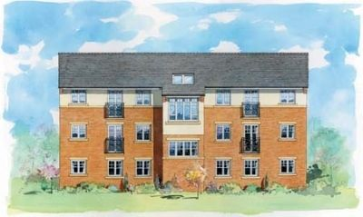 "Thumbnail Flat for sale in ""The Dunston"" at Rothbury Drive, Ashington"