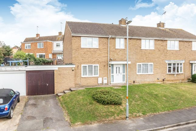 Thumbnail Semi-detached house for sale in Haddon Close, Rushden