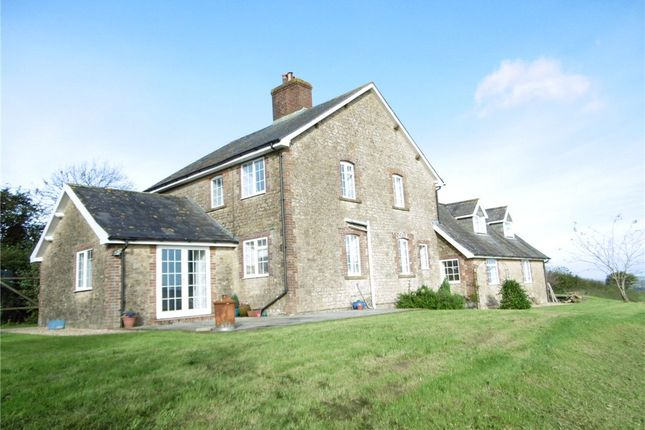 Thumbnail Detached house to rent in Pickett Lane, South Perrott, Beaminster, Dorset