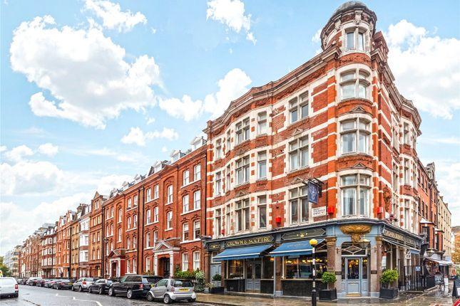 Exterior of Great Titchfield Street, Fitzrovia, London W1W