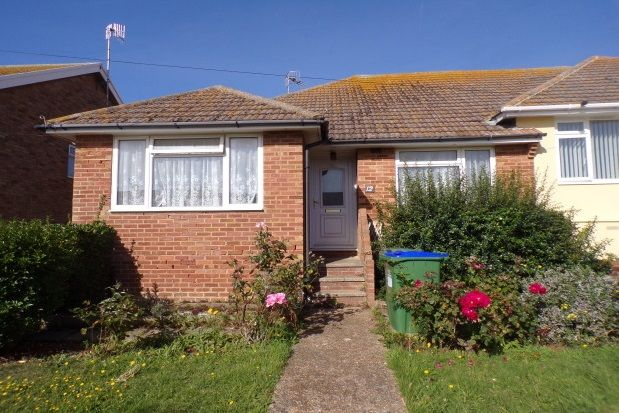 Thumbnail Bungalow to rent in Steyning Avenue, Peacehaven