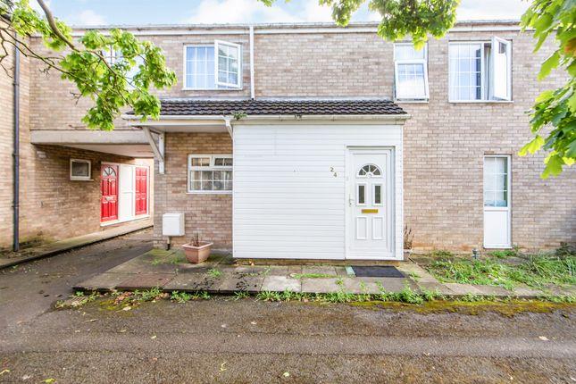 Thumbnail Terraced house for sale in Lingfield Walk, Corby