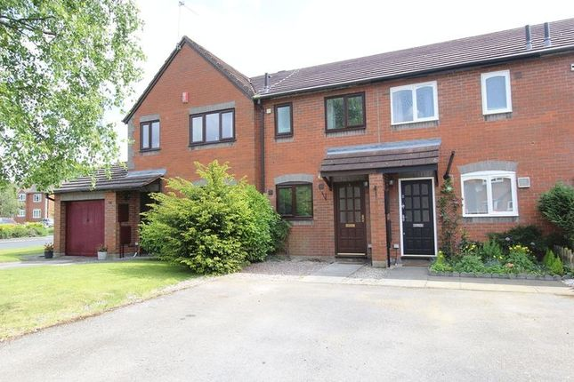 Thumbnail Town house to rent in Salisbury Close, Madeley, Crewe