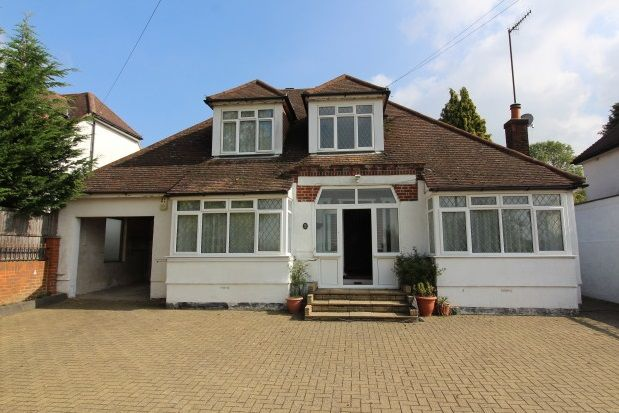 Thumbnail Detached bungalow to rent in Epsom Lane North, Epsom